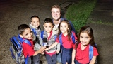 Real-Mayorga quintuplets head to second grade
