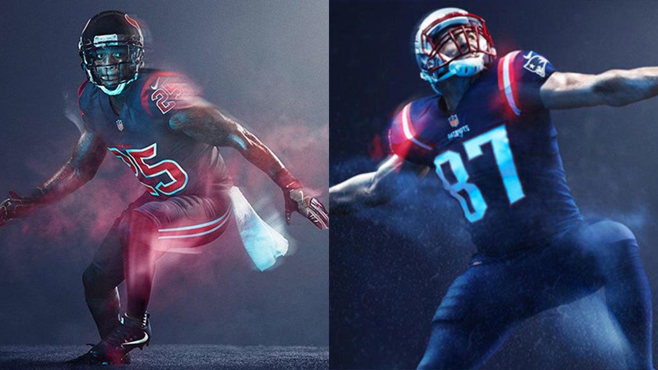 Texans won't wear 'color rush' uniform during Patriots game