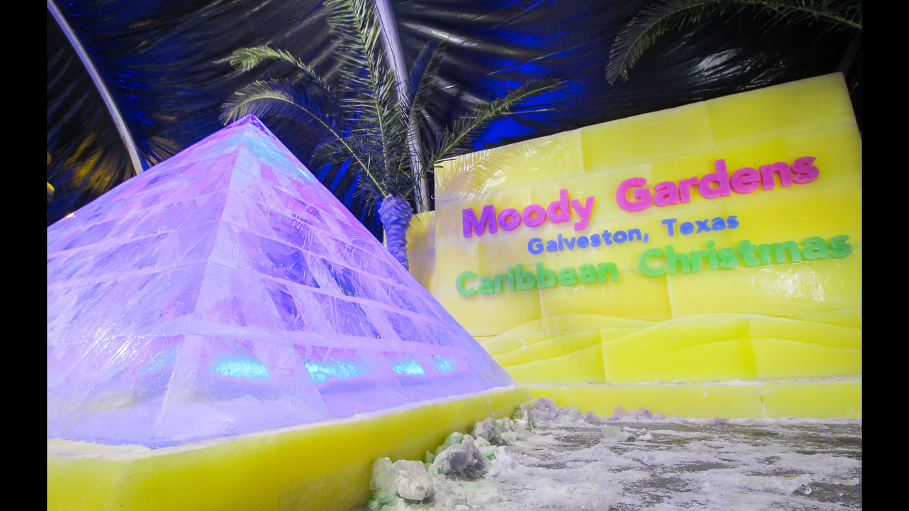 Moody Gardens Reveals Ice Bar As Part Of Newly Themed Ice Land