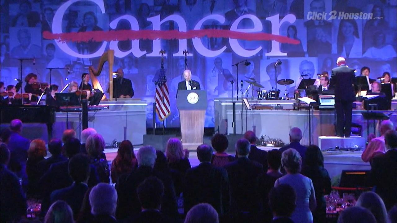 Vice President Joe Biden visits Houston for MD Anderson's ...