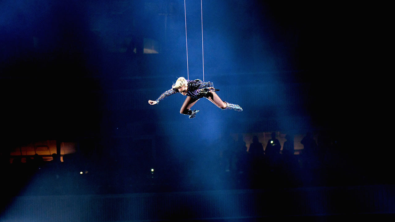 How Lady Gaga Pulled Off Jaw Dropping Jump From Roof