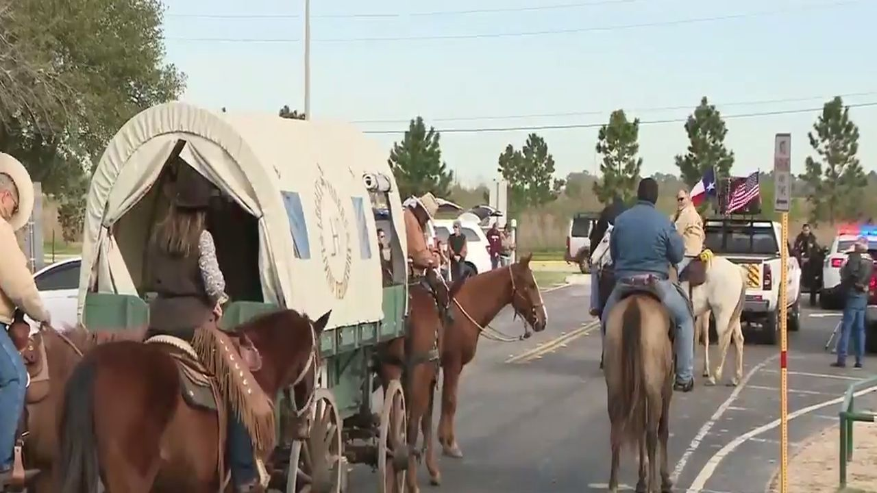 Salt Grass Trail Riders Head To Houston Rodeo
