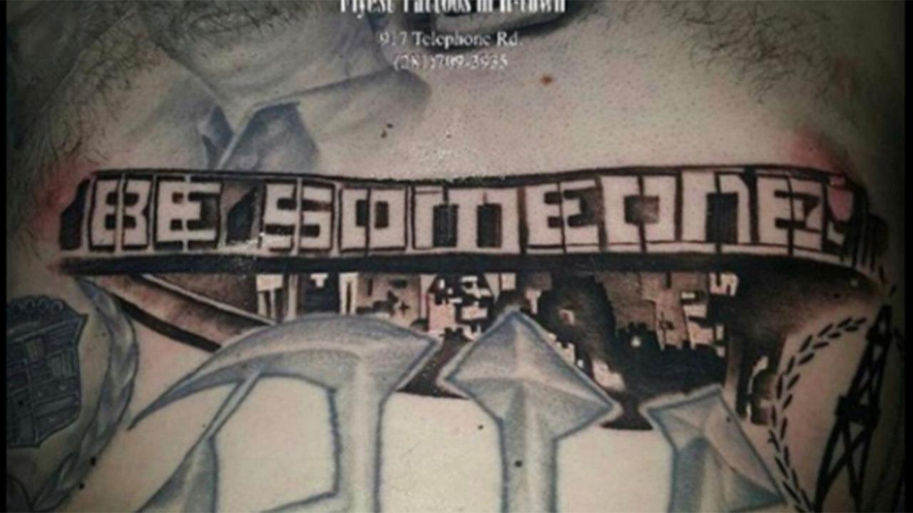 Graffiti wall tattoo - Graffiti Wall Tattoo 10