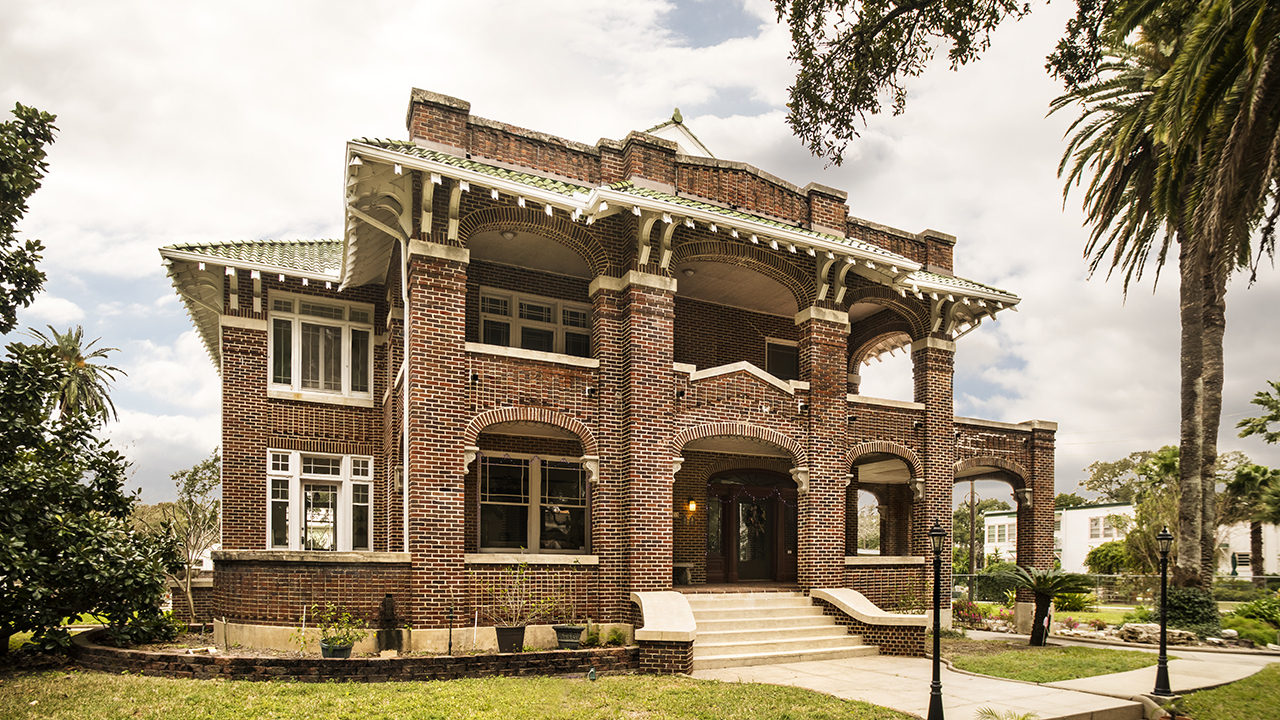 Inside the galveston historic homes tour for Home video tours