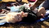Australian spa comes up with new way to pamper baby