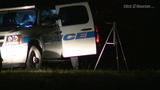 Teen discovers body in wooded area