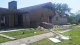 Homes damaged in Harris County neighborhood