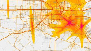 Transportation Noise Mapped For Houston Other US Cities - Us noise map
