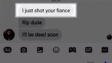 Man leaves chilling messages for woman's fiance
