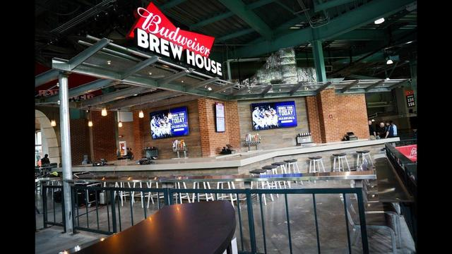 Astros Reveal Newly Renovated Center Field At Minute Maid Park