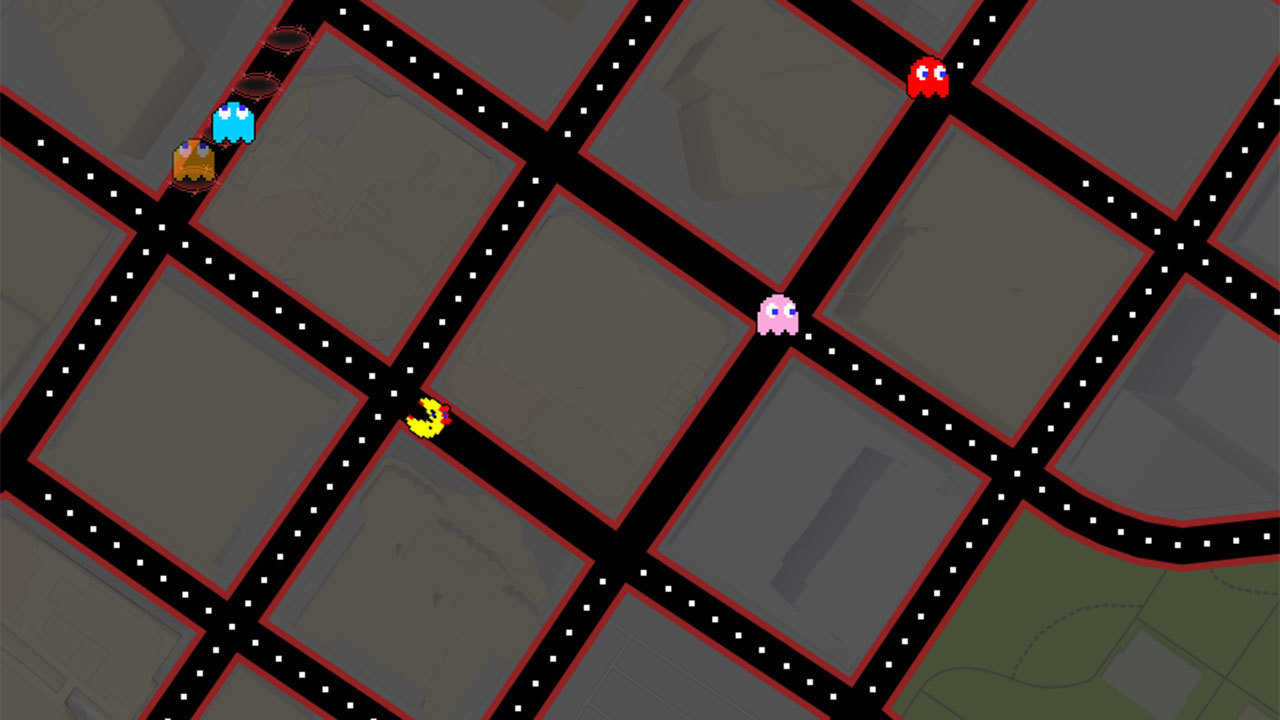 Google themes pacman - Google Themes Pacman 40