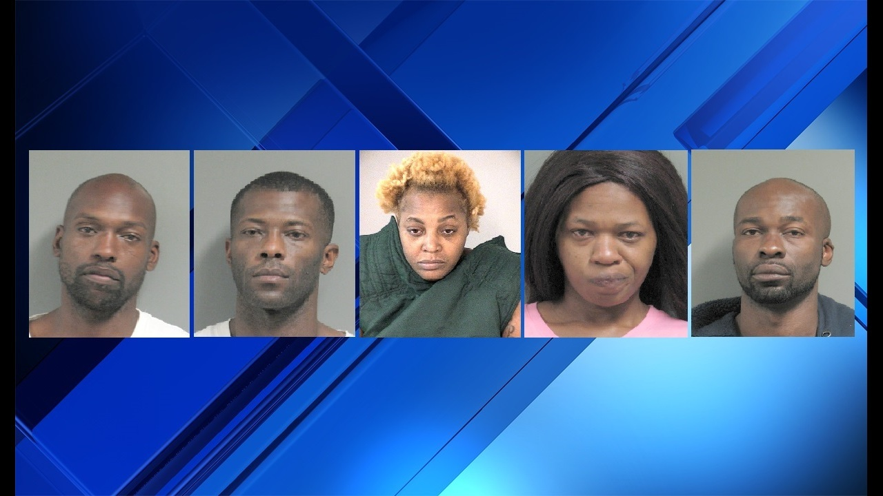 Five arrested after drugs found in Richmond home