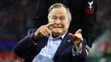 Former President George H.W. Bush leaves Houston, heads to his summer&hellip&#x3b;