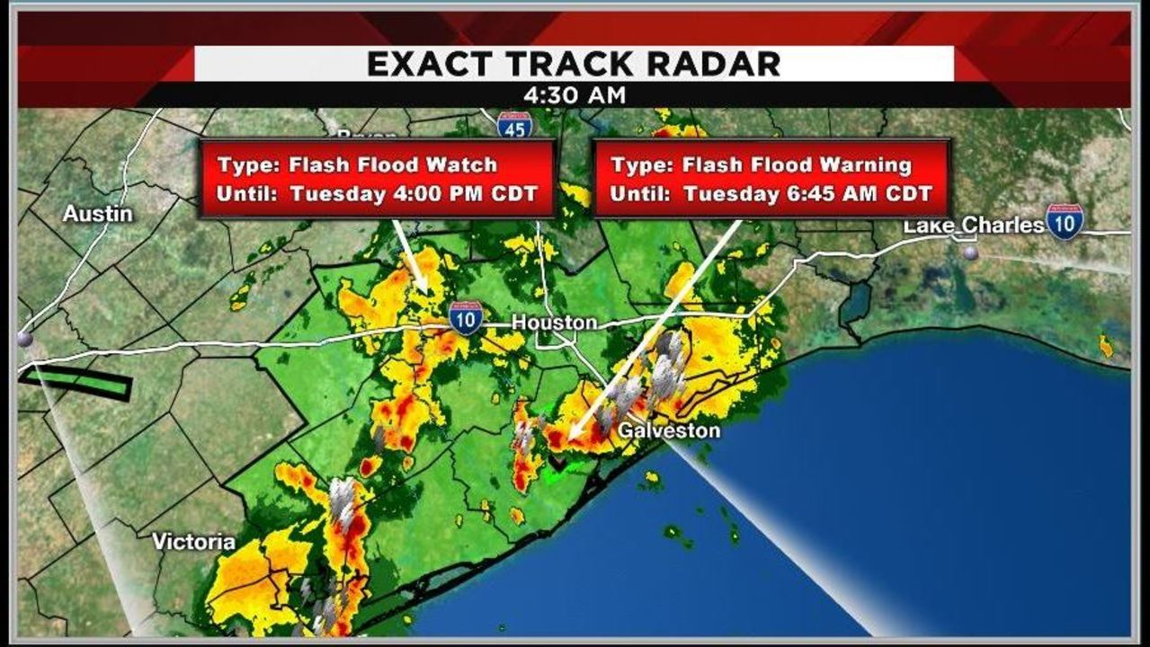 Flash Flood Warnings Watches Issued For Several Counties