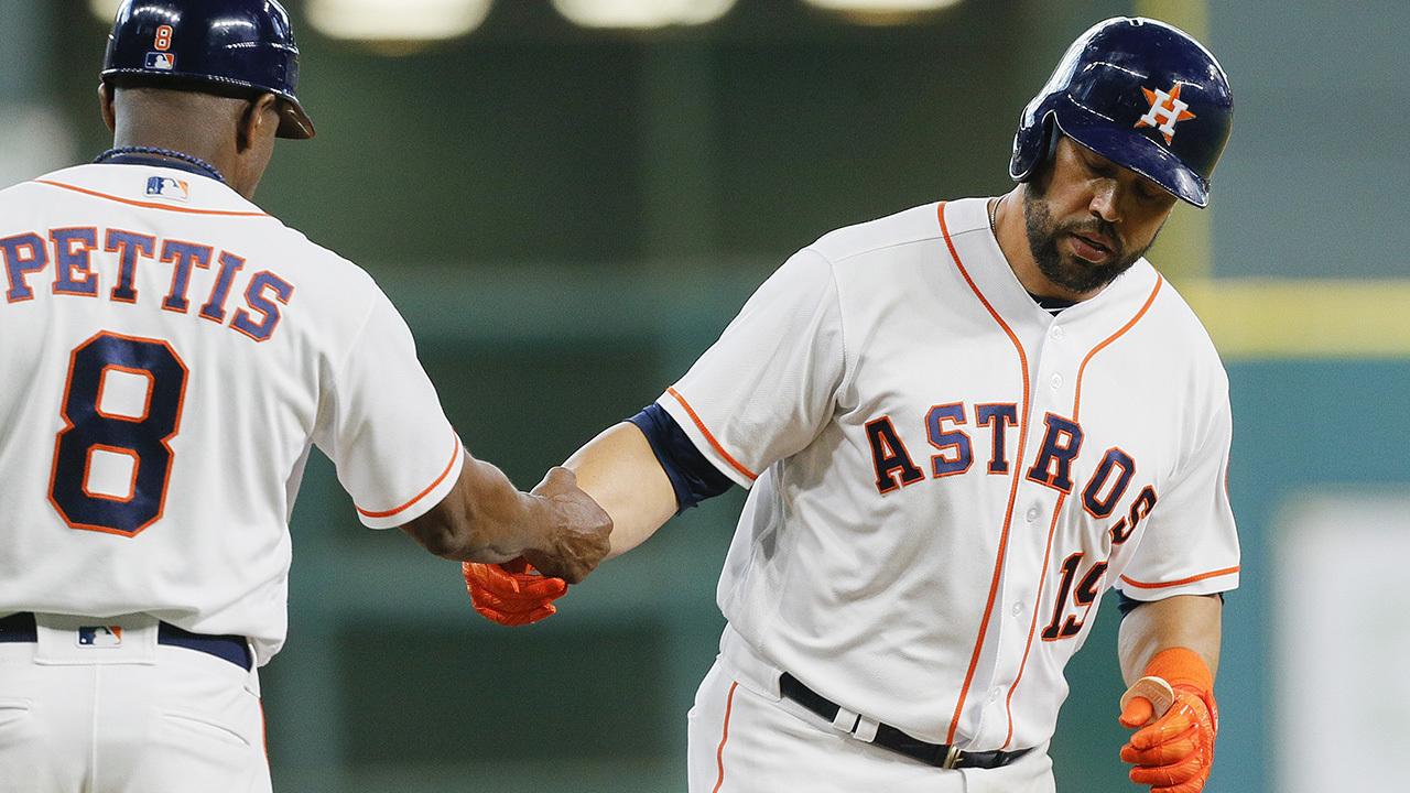 Beltran S First Houston Homer Since 2004 Helps Astros Top