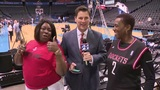 KPRC2's Sports Director Randy McIvoy surprised by Harden, Beverly Moms