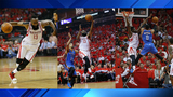 Rockets advance to 2nd round of playoffs with 105-99 win over Thunder in Game 5