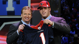 Houston Texans draft picks to be announced from space