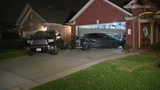 4-year-old hurt after car hits 2 vehicles in driveway in Pasadena