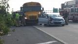 School bus involved in southeast Houston crash