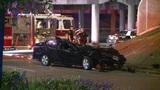 Car flies off North Freeway, killing driver