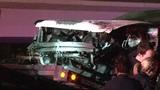 Wrecker driver arrested after crash involving officer