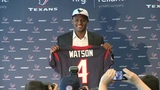 Texans introduce QB Deshaun Watson