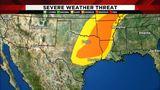 Storms blow through Houston