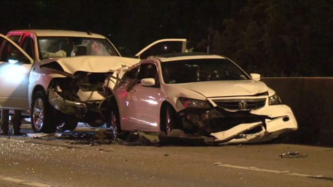 I-45 NB at North Loop reopens after deadly crash