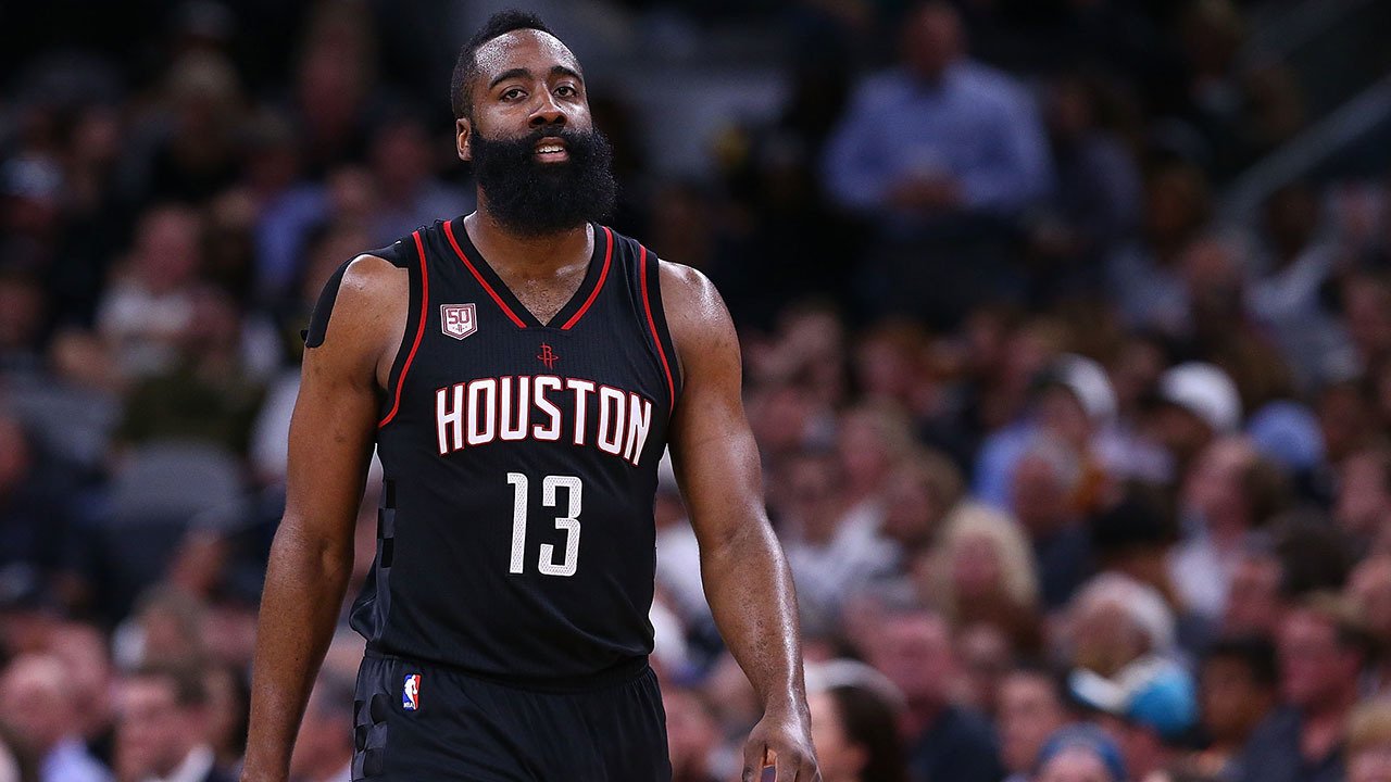 James Harden named one...