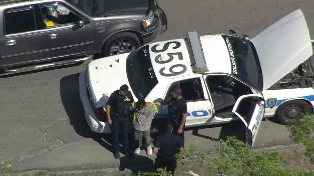 2 In Custody After Police Chase In Se Houston Authorities Say
