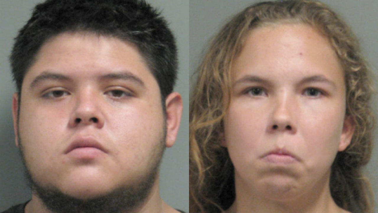 Duo Arrested After Dog In Distress, Drugs Found At