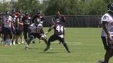 Texans hit the practice field
