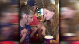 Touching video shows special needs child interacting with her first friend