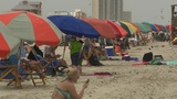 Tourists travel to Galveston for Memorial Day weekend
