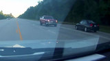 Dashcam video of wrong-way driver in Montgomery County