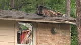 Lightning sparks fire at apartments in The Woodlands