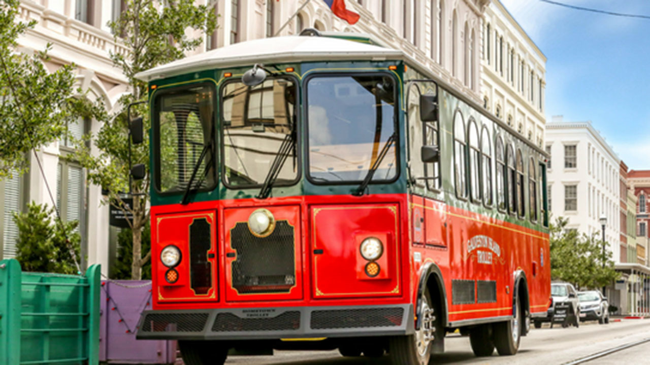 Cochran Used Cars >> Trolley service returns to Galveston with decked-out buses