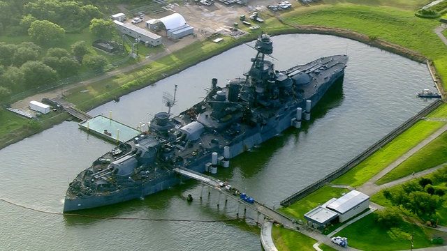 Commissioner's Office proposed plans to keep Battleship Texas at Houston…