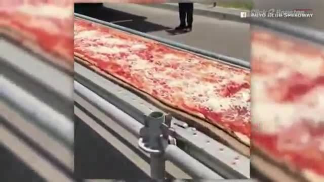Mile Long Pizza Sets World Record