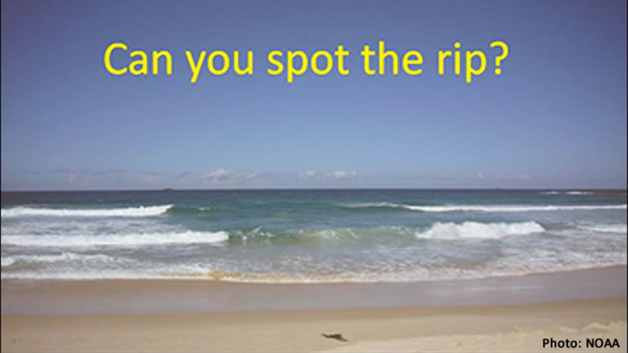 Things to know for summer  How to avoid  survive rip current