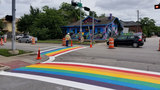 Pride Houston creates rainbow crosswalk for LGBTQ community in Montrose