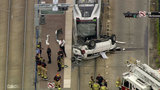 Driver dies after vehicle crashes into METRORail train
