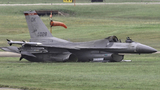 Pilot ejects from burning F-16 jet at Ellington Airport