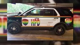 Controversy over Pride decal on HPD SUV