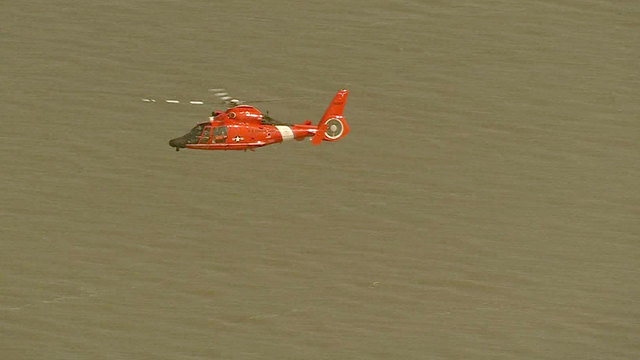 U.S. Coast Guard searching for swimmer reported missing near San Luis Pass