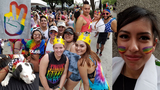 Thousands gather for Pride parade