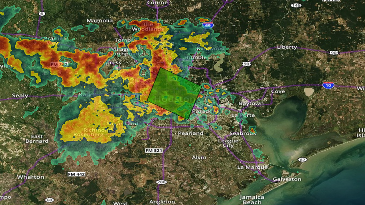 Flash Flood Warning Issued Throughout Central Houston Until