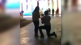 Wedding proposal goes viral