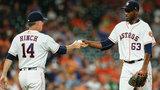 Reddick and Springer lead Astros over Athletics 11-8